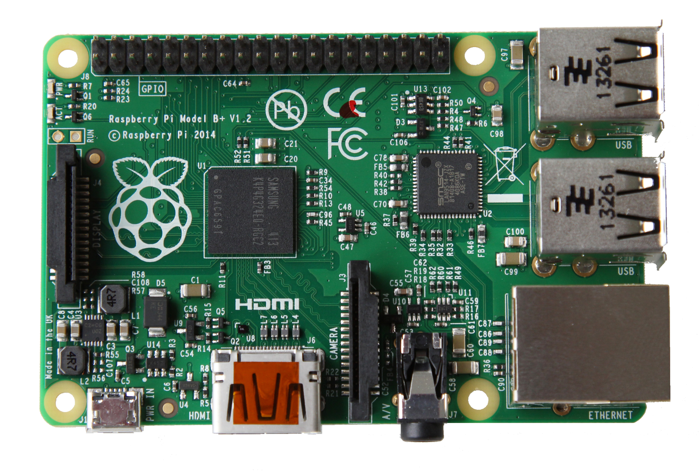 The new Raspberry Pi B+