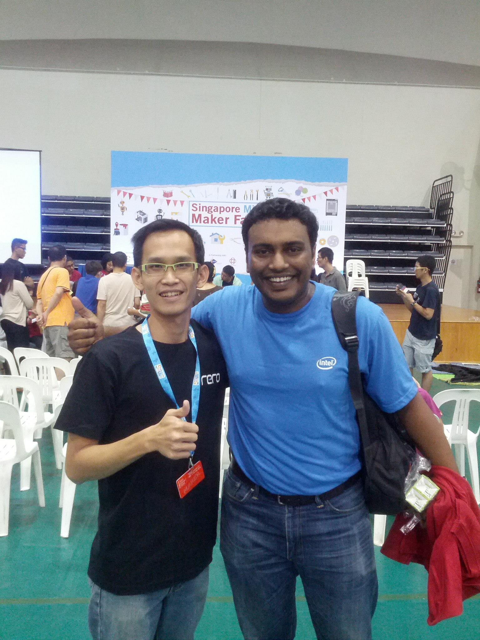Kanapathy from Intel Malaysia