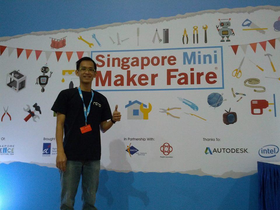 Singapore Mini Maker Faire 2014 !