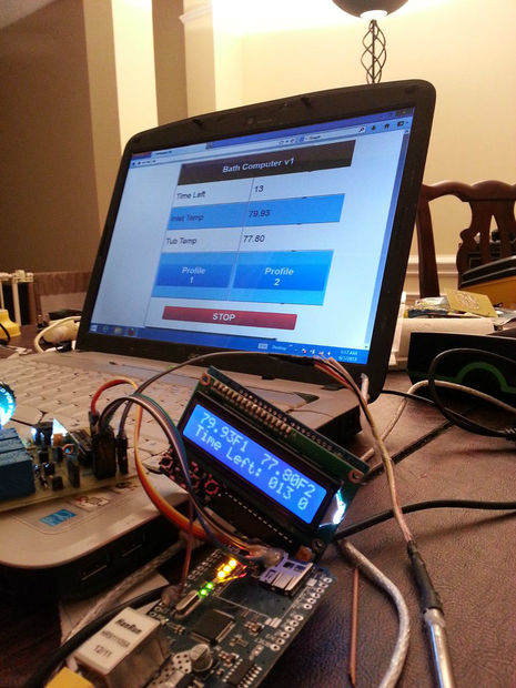 The Bathtub Becomes Automated And Arduino Compatible Make