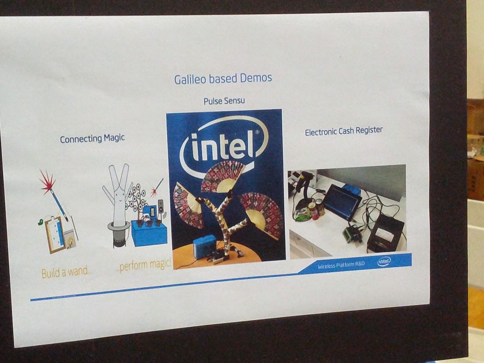 Intel Galileo demo