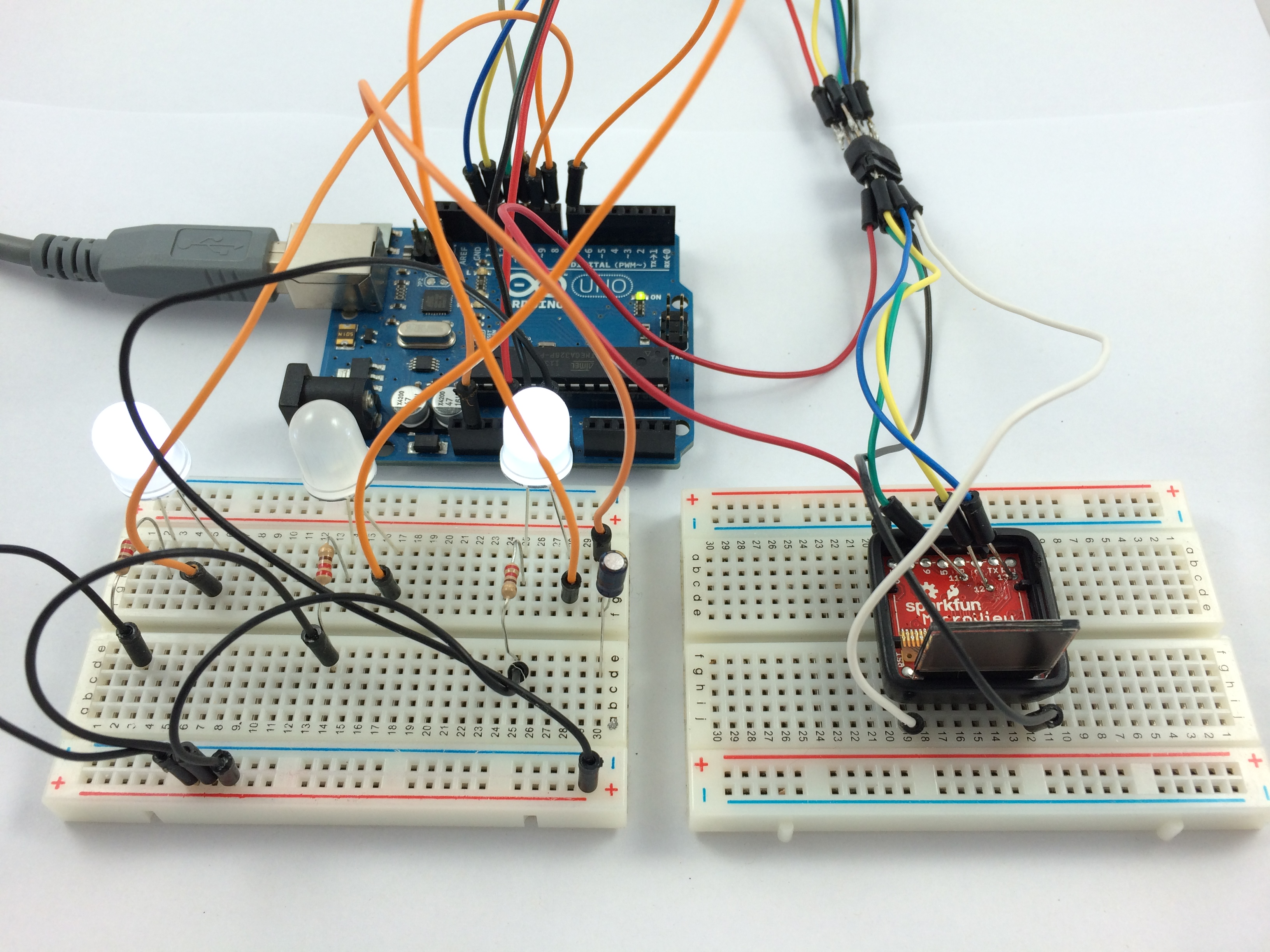 Uploading the bootloader to the MicroView