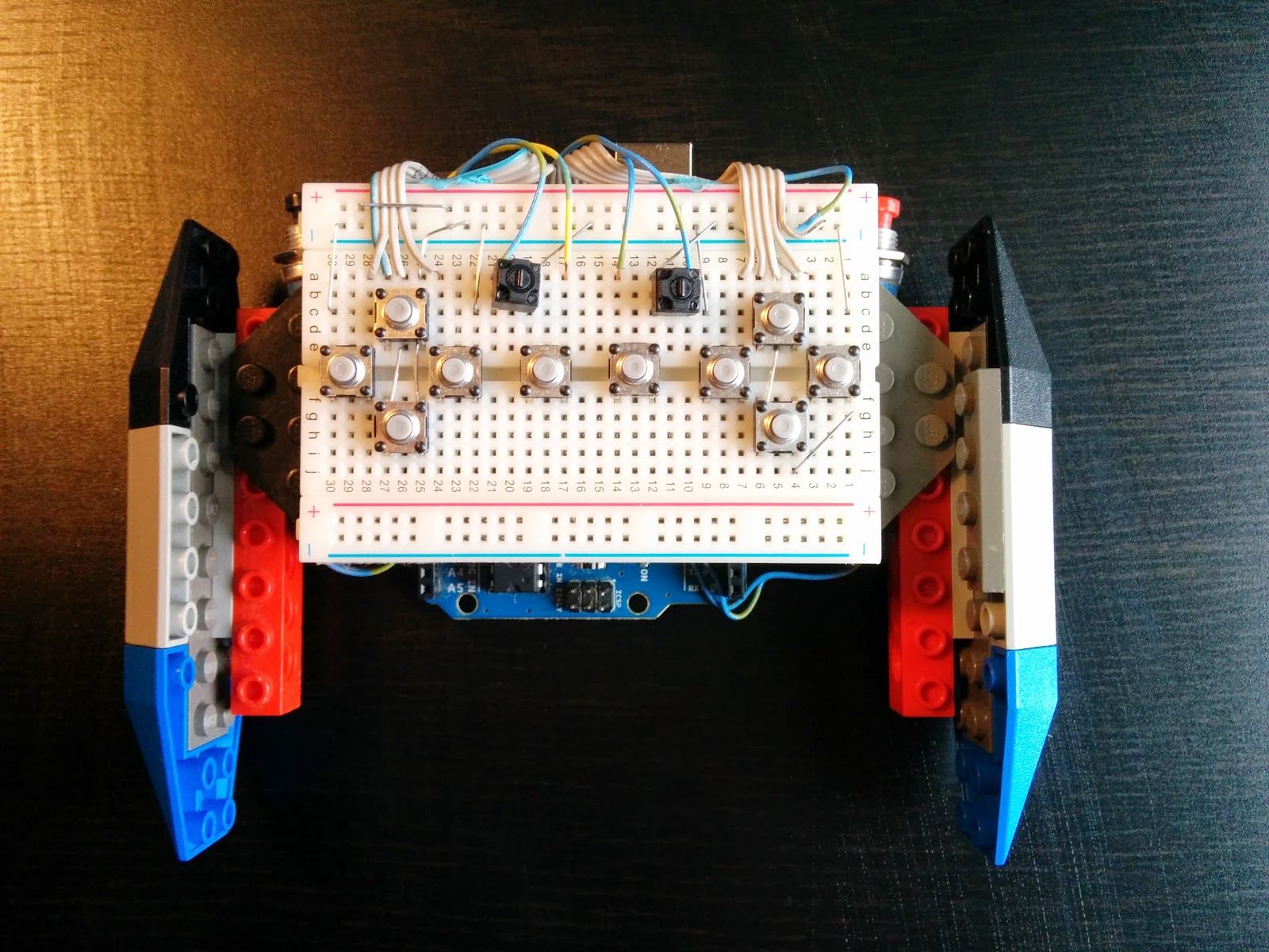 A game controller that s mondo customizable with lego and