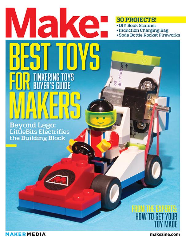 Make 41: Tinkering Toys