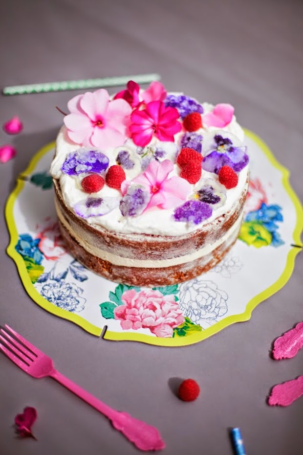 How-To: Crystallized Sugar Flower Cake Decorations   Make: