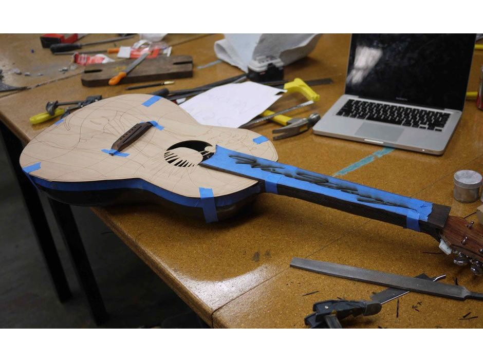 How I Made a Carbon Fiber Acoustic Guitar