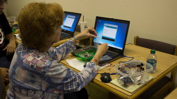 Software meets Hardware, learning to code for physical applications at Vocademy
