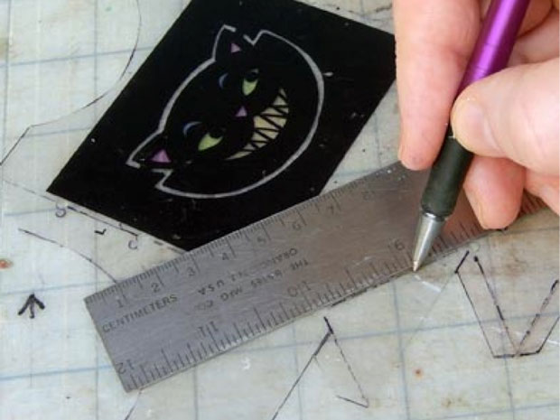 how to cut square holes in project box