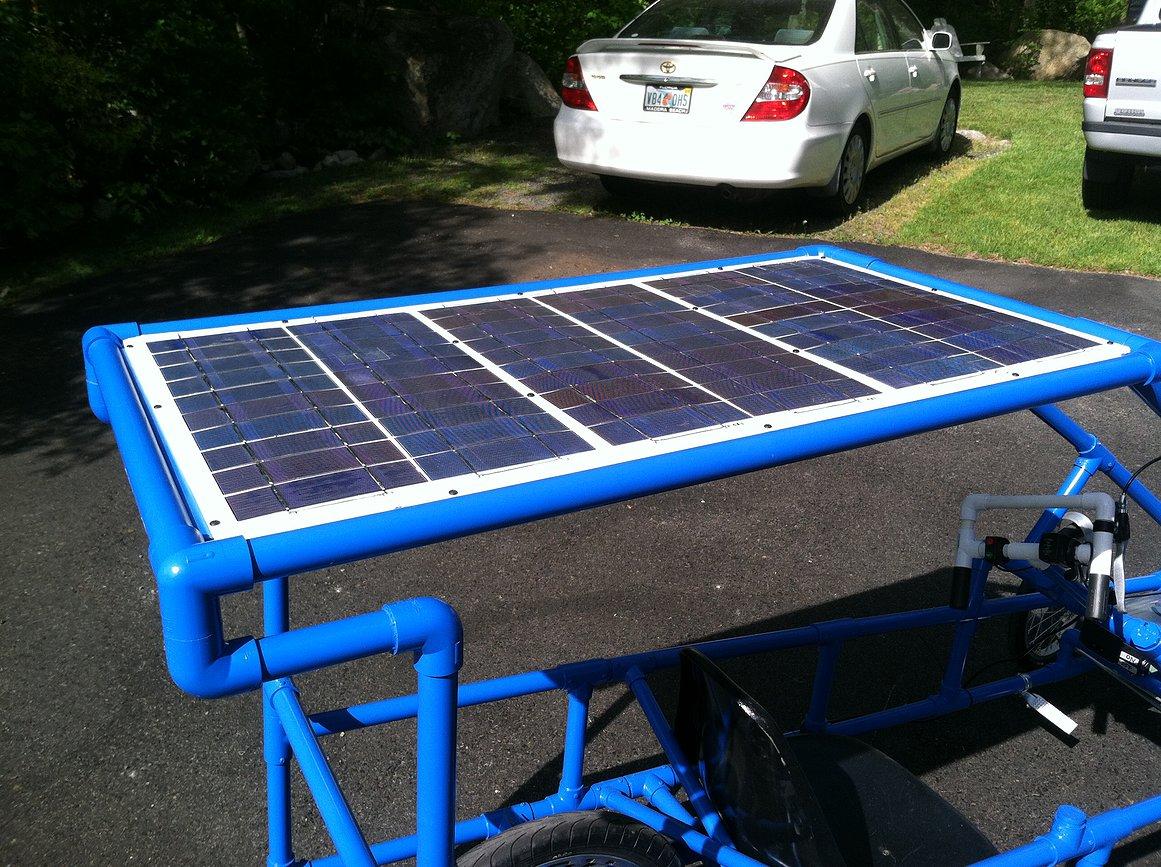 High Schoolers Create Solar Powered Electric Vehicle Meet