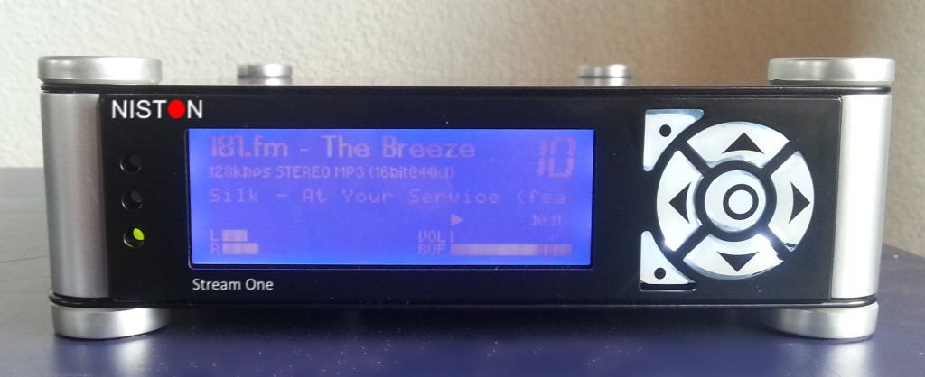 While it may look like a car stereo, it is in fact an internet audio streaming machine.