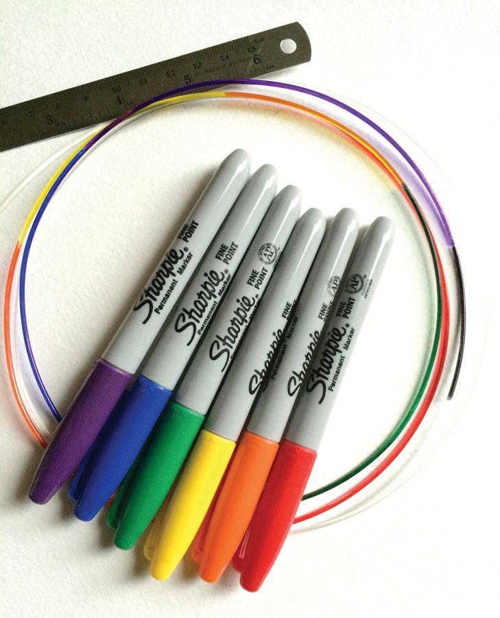 rainbow-extrusion-sharpie