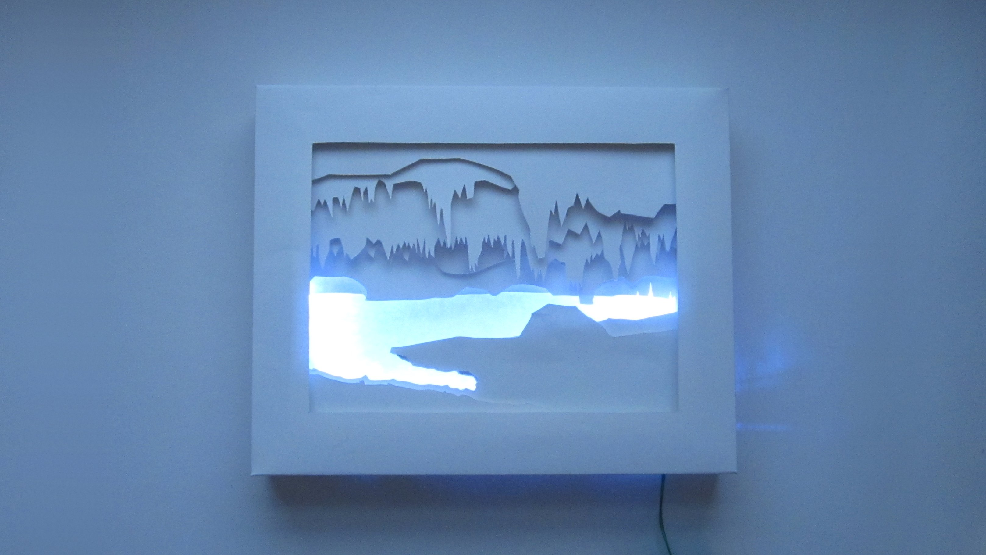 3d Silhouette Light Box Make