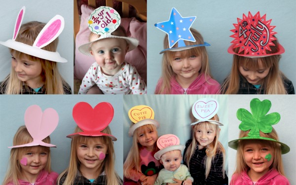 Easy Paper Plate Party Hats