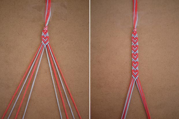 How To Heart Patterned Friendship Bracelets Make