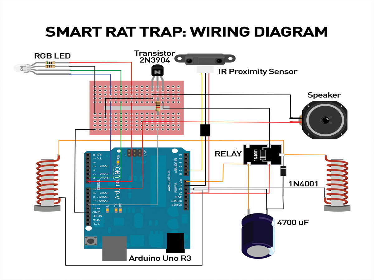 smart rat trap make