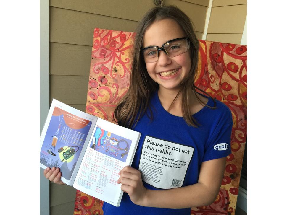 5th grader Audrey Hale