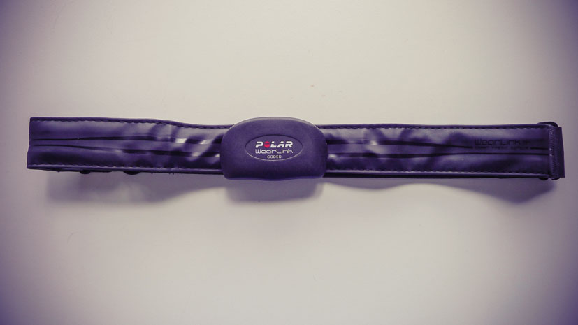 Polar heart rate monitor band