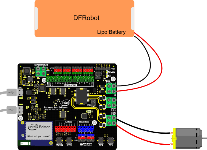 Without Intel? Edison Edison Controller DFROBOT Romeo for Intel