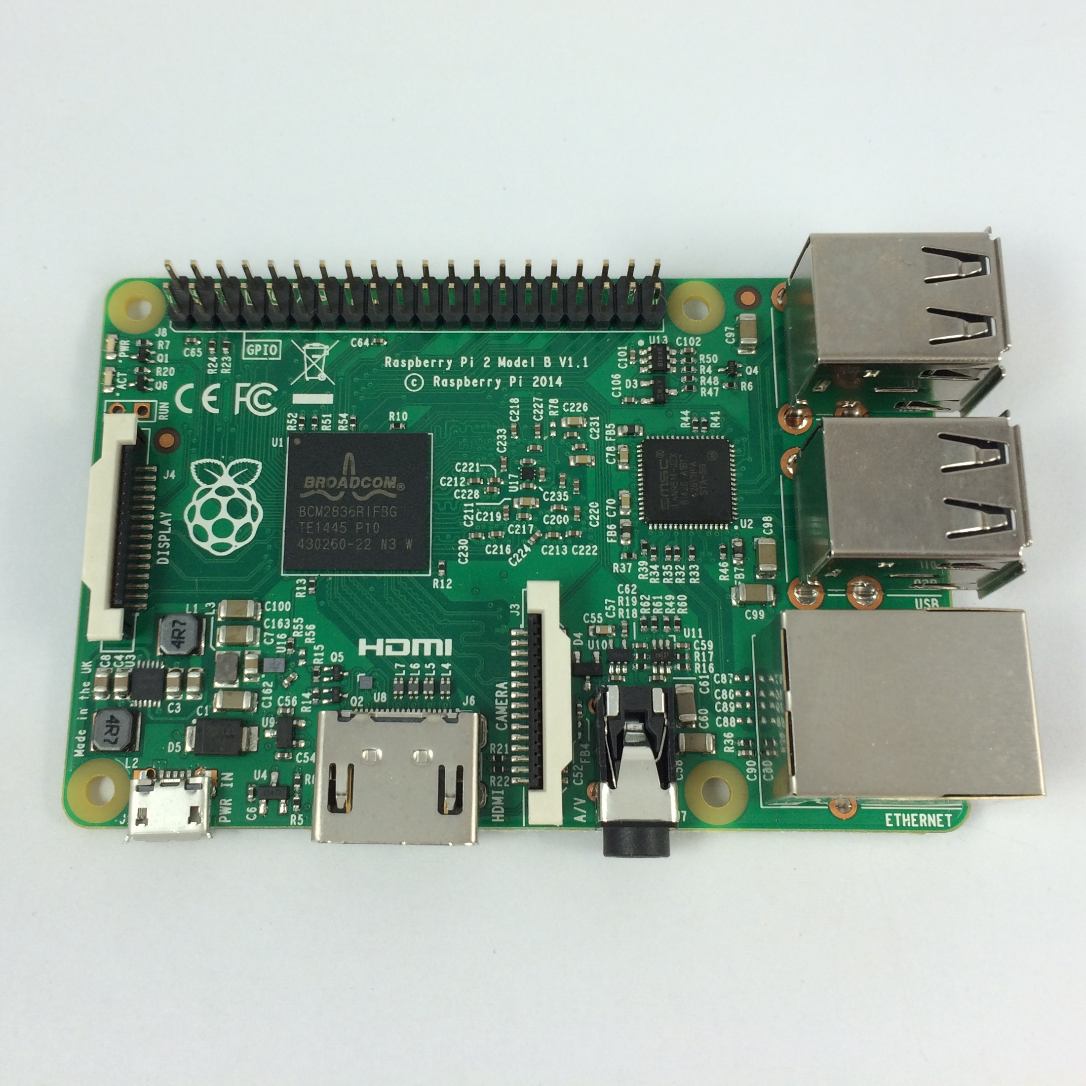 The Raspberry Pi 2, Model B